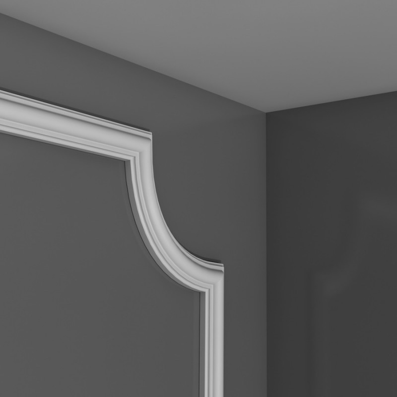 Лепнина Орак декор PX120A Угловой элемент для молдинга PX120 Orac Decor