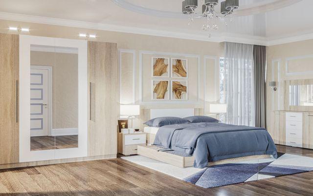 модульна спальня лілея нова світ меблів купити з доставкою по