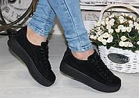 Криперы Rihanna черные 41 размер (25 см)