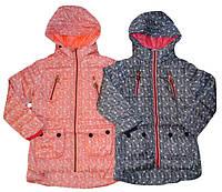 Куртка демисезонная для девочек на флисе, GRACE, размеры 116-146  рр, арт. G-70559, фото 1
