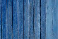 Деревяный фотофон голубая доска 100х80см, банер