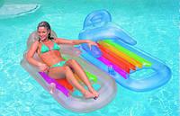 Надувной пляжный матрас-кресло Intex Lounge 58802 (160Х85см)