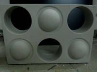 """Комплект форм """"ГОЛЛИВУД"""" для 3D блоков-перегородок"""