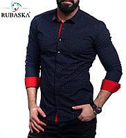 Мужская рубашка с отложным рукавом, фото 1