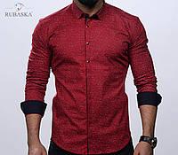 Рубашка мужская с отложным рукавом, фото 1