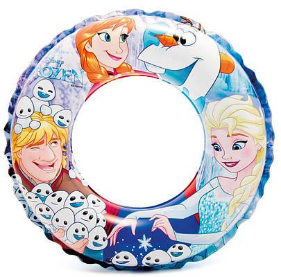 Надувной круг Frozen (Холодное сердце) Intex 56201 (51см) от 3х до 6