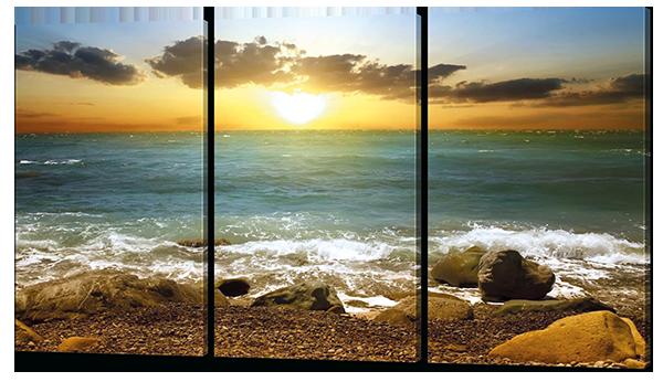 Модульная картина Море