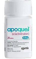 АПОКВЕЛ 5,4 мг для лечения дерматитов сопровождающихся зудом у собак, 20 таблеток