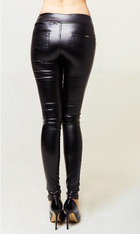 Женские эксклюзивные кожаные лосины, фото 2