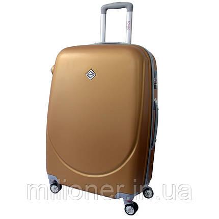 Чемодан Bonro Smile с двойными колесами (большой) золотой, фото 2