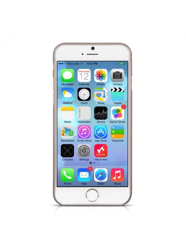 прозрачный  tpu чехол на айфон iphone 6 plus / 6s plus