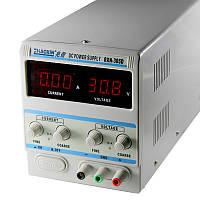 Блок питания с цифровой индикацией Zhaoxin 305D 150W (30 волт 5 ампера,защита от кз,с релюхой от кз)