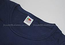 Женская Футболка Премиум Тёмно-синяя Fruit of the loom 61-424-32 M, фото 3