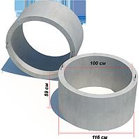 Кольцо колодезное стеновое КС 10.6