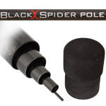 Удилище ET Black Spider Pole 6м 5-20g 355g Carbon IM-8, фото 1