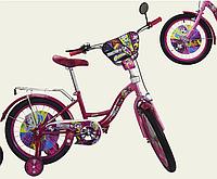 Велосипед двухколесный 16 дюймов Монстр Хай 181606