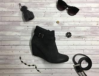 Женские стильные кожаные полуботиночки