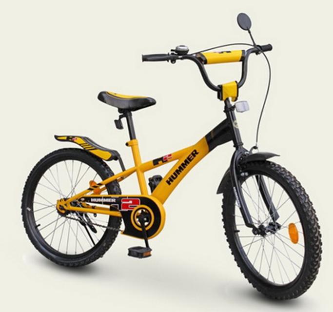 Велосипед двухколёсный детский 16 дюймов Hummer 181626