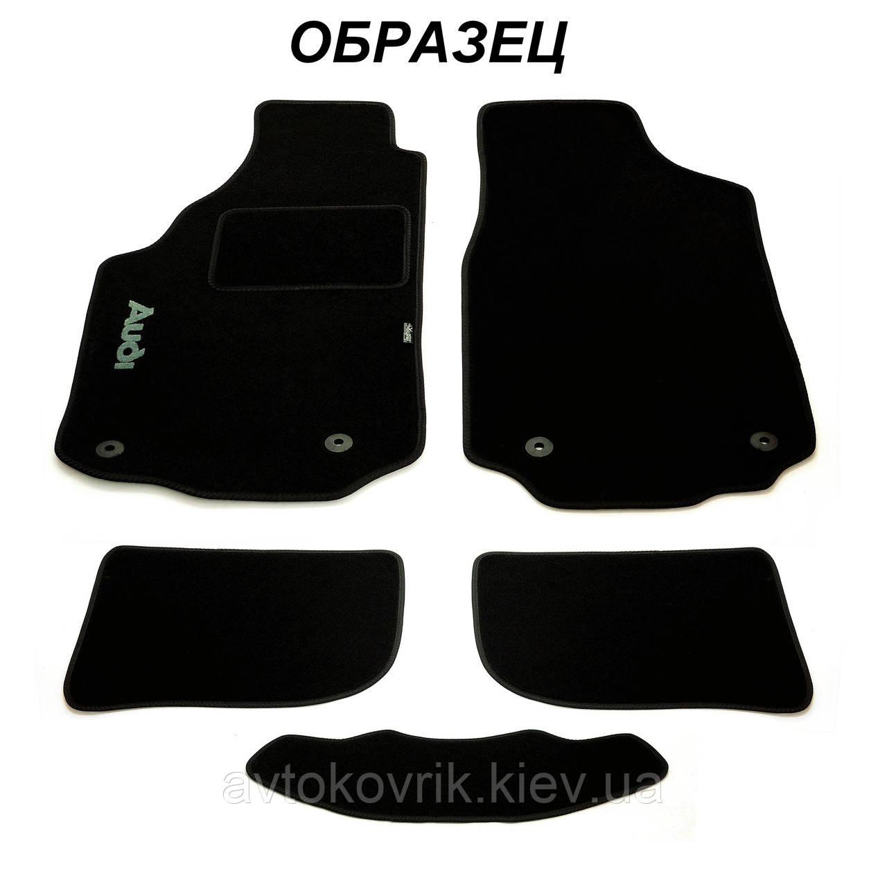 Ворсовые коврики для BMW 5 (E60) 2003-2010 (STINGRAY)