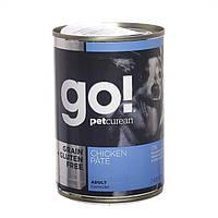 Консервы беззерновые Grain Free Chicken Pate(для взрослых собак) 400 гр