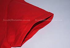 Женская Футболка Премиум Красная Fruit of the loom 61-424-40 XS, фото 3