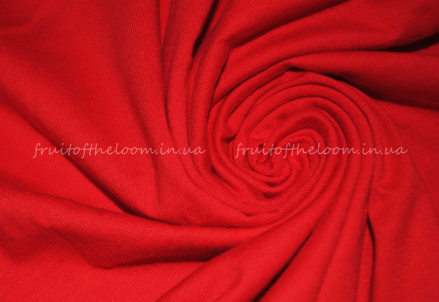 Красная премиум  женская футболка