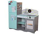 Деревянная кухня для детей Blue.Детская кухня  ECOTOYS , фото 2