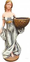 Скульптура садовая Девушка с корзинкой С202