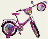 Детский двухколесный велосипед 18 дюймов Литл Пони 181820
