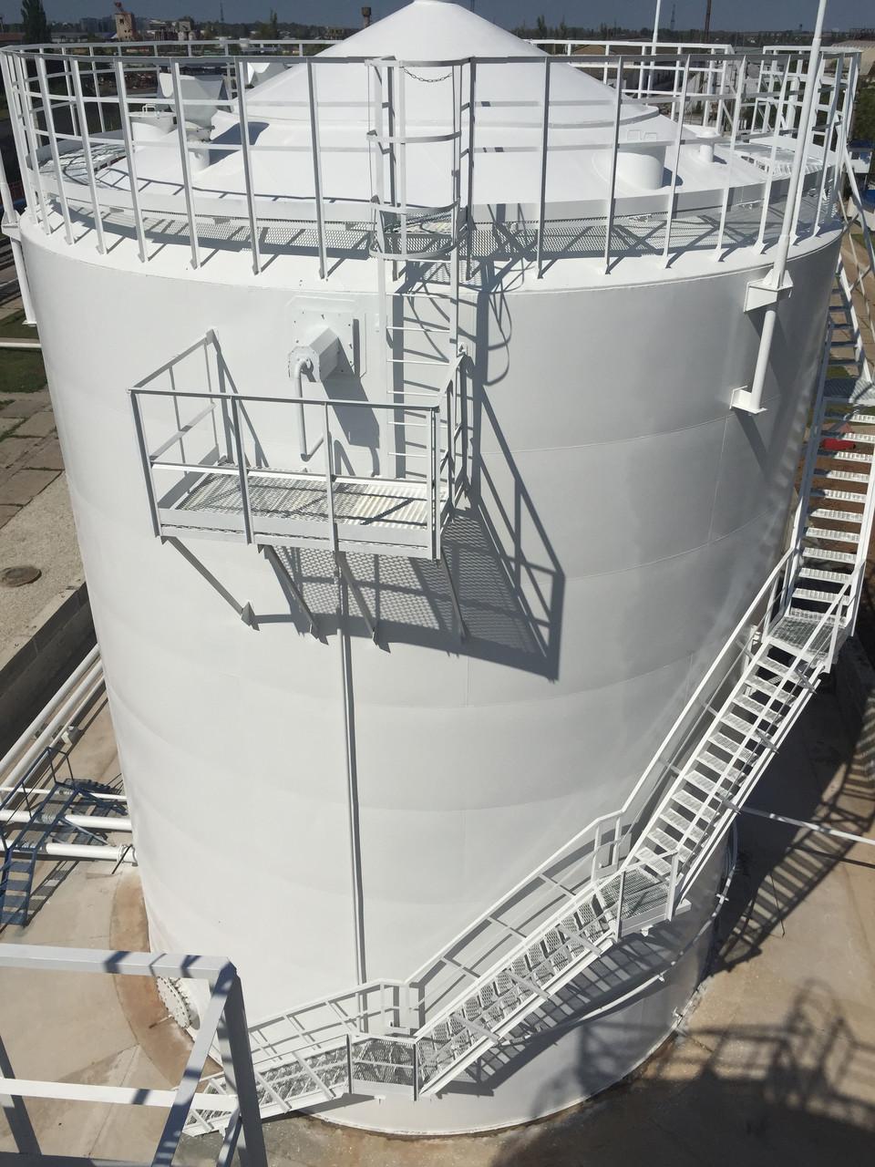 Изготовление и монтаж резервуаров РВС-1000 с конусообразной крышей