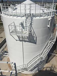 Виготовлення і монтаж резервуарів РВС-1000 з конусоподібним дахом
