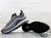 Мужские кроссовки Nіkе Аіr Мах 97 Ultra 17 Metallic Silver/Red 917704-002, фото 3