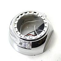 Маска Tiguan U-ring с ангельскими глазками (DRL + габарит), фото 1