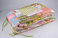Детский защитный комплект в кроватку (Арт. AN091/2)