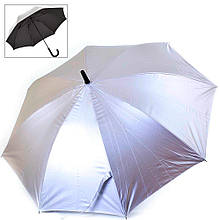 Двусторонний женский зонт-трость FARE FARE7119-silver-black