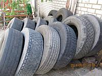 Шины б/у для грузовых автомобилей и полуприцепов