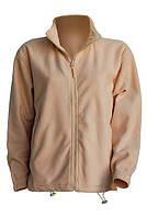 Флисовая куртка мужская цвет песочный в наличие