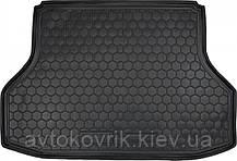 Поліуретановий килимок в багажник Chevrolet Lacetti 2002-2013 седан (AVTO-GUMM)