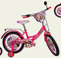 Детский двухколесный велосипед 18 дюймов Барби 181814