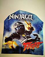 Шапка весення -осеняя для мальчика Ниндзяго, фото 1