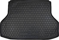 Пластиковый коврик в багажник Chevrolet Lacetti 2002-2013 седан (AVTO-GUMM)