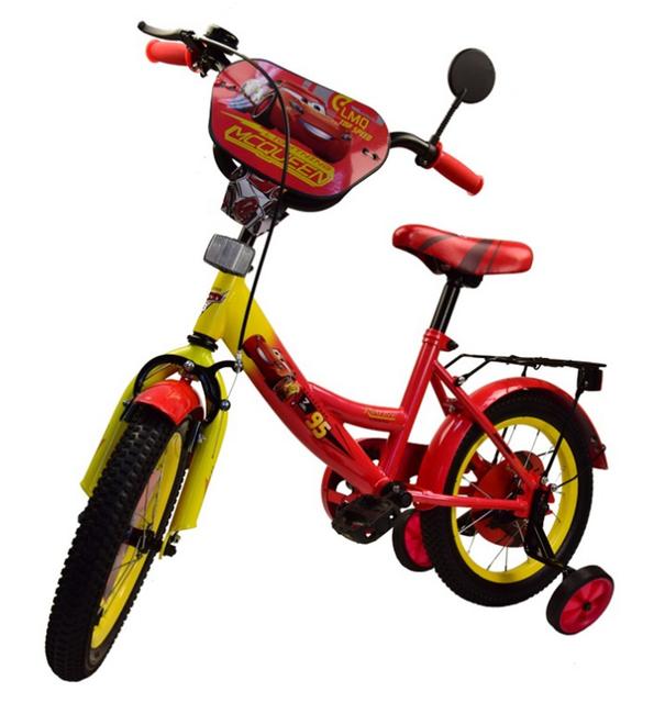 Детский двухколесный велосипед 18 дюймов Тачки 181817