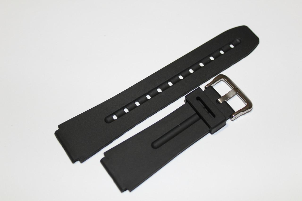 Резиновый ремень для часов (CASIO) 20мм- ремень из полеуретана.