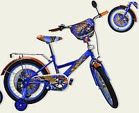 Детский двухколесный велосипед 18 дюймов Хот Вилс 181809