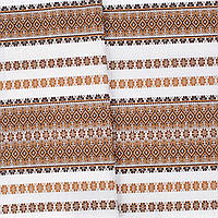 """Декоративная ткань с украинским орнаментом """"Грегит"""" ТД-47 (3/3) от 1 м/пог"""