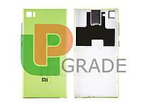 Задняя крышка Xiaomi Mi3, зеленая, TD-SCDMA/GSM
