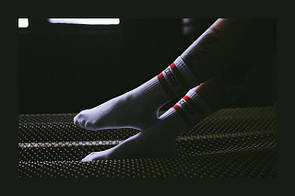 Look-фото носков Punch - Будь собой, White