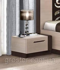 Тумба прикроватная Сага. Мебель для спальни.