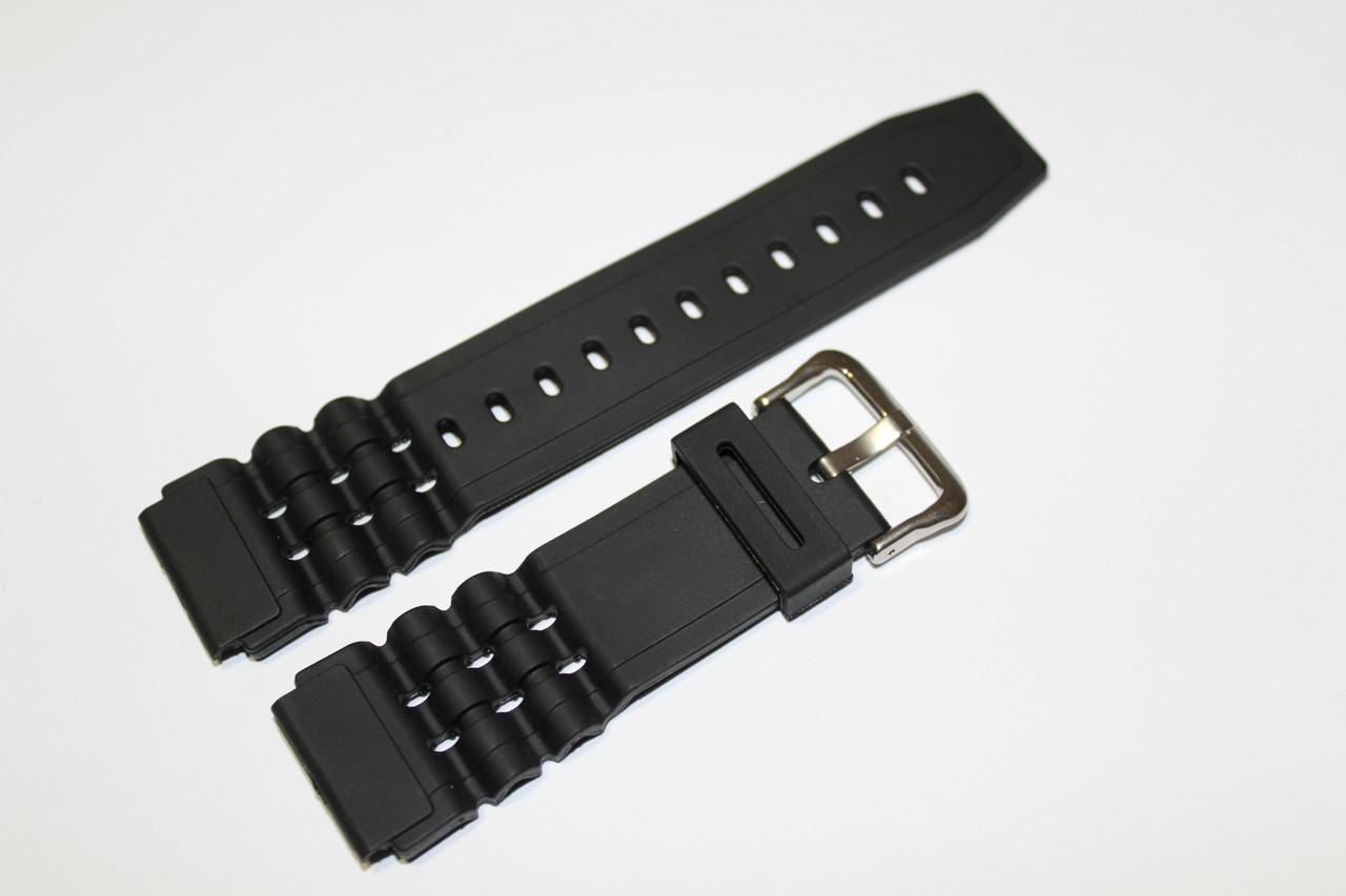 Резиновый ремень для часов (CASIO) 22мм- ремень из полеуретана.