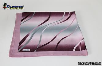 Платок розовый шерстяной Ирма, фото 3